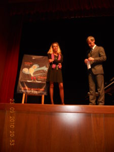 """23 settembre, 2010 al Teatro """"L.Bratuz"""" di Gorizia"""